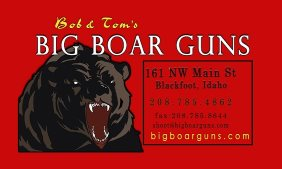 Big Boar Guns